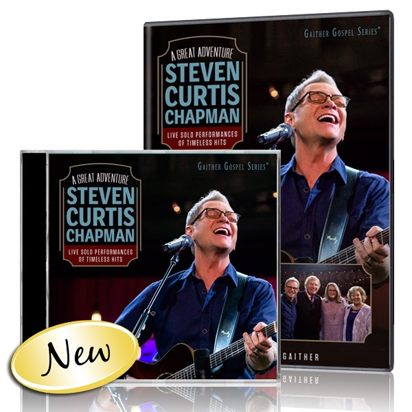 Steven Curtis Chapman: A Great Adventure DVD/CD