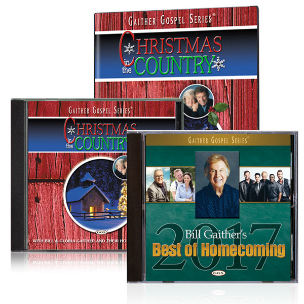 Christmas In The Country DVD/CD w/bonus Best of 2017 CD