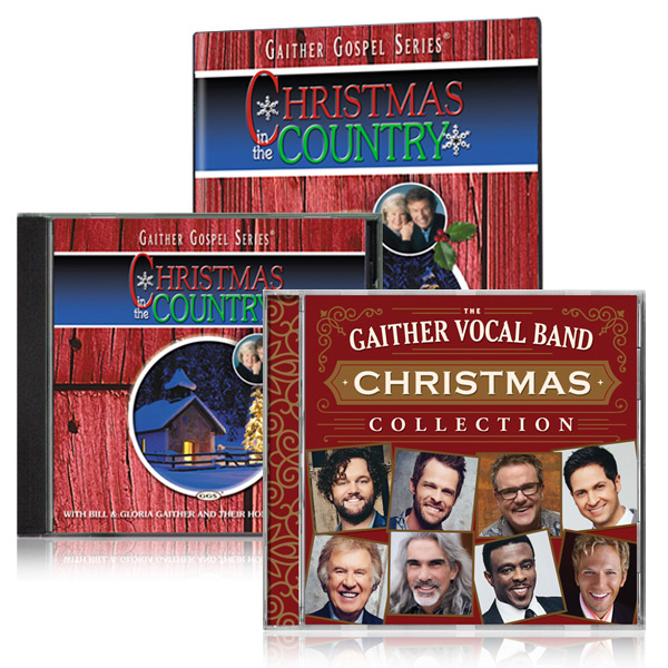 Christmas In The Country DVD/CD w/bonus GVB: Christmas Collection CD