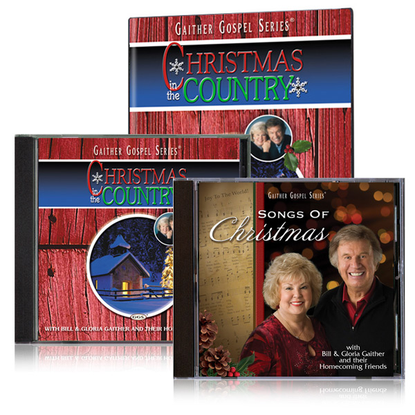 Christmas In The Country DVD/CD w/bonus Bill & Glorias Songs Of Christmas CD