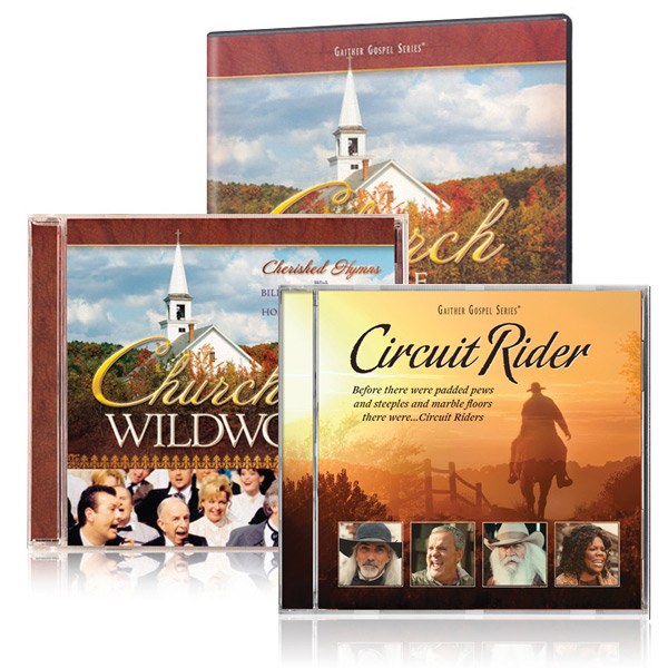 Church In The Wildwood DVD/CD w/bonus Circuit Rider CD