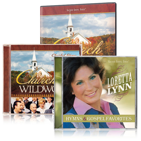 Church In The Wildwood DVD/CD w/bonus Loretta Lynn Hymns & Gospel Favorites CD