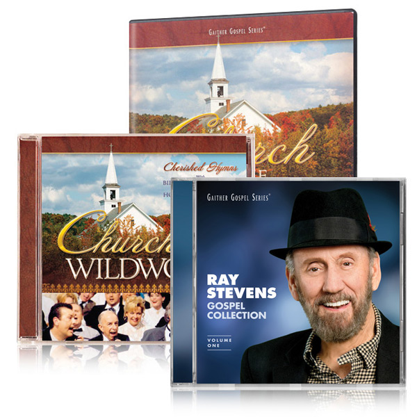 Church In The Wildwood DVD/CD w/bonus Ray Stevens Gospel Collection CD