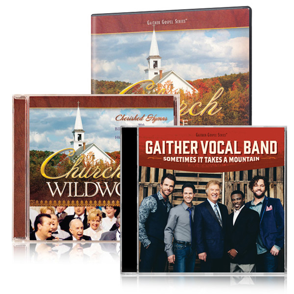 Church In The Wildwood DVD/CD w/bonus GVB Sometimes It Takes A Mountain CD