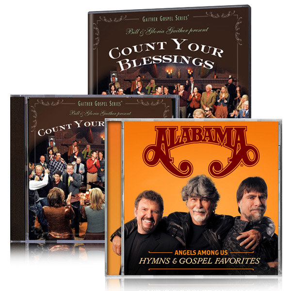 Count Your Blessings DVD/CD w/bonus Alabama: Angels Among Us CD