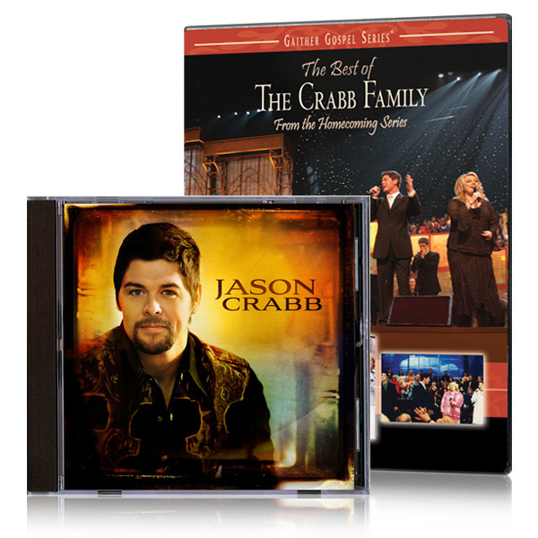 The Best Of The Crabb Family DVD w/ Jason Crabb CD
