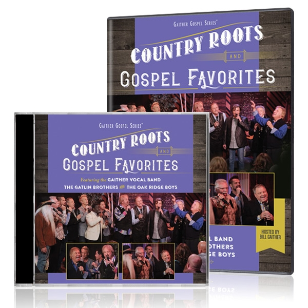 GVB/Gatlin Brothers/Oak Ridge Boys: Country Roots And Gospel Favorites DVD & CD
