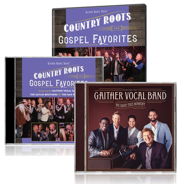 Country Roots And Gospel Favorites DVD/CD w/bonus GVB: We Have This Moment CD