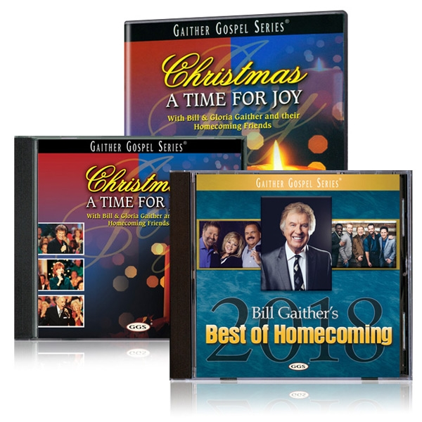 Christmas A Time For Joy DVD/CD w/bonus Best Of Homecoming 2018 CD