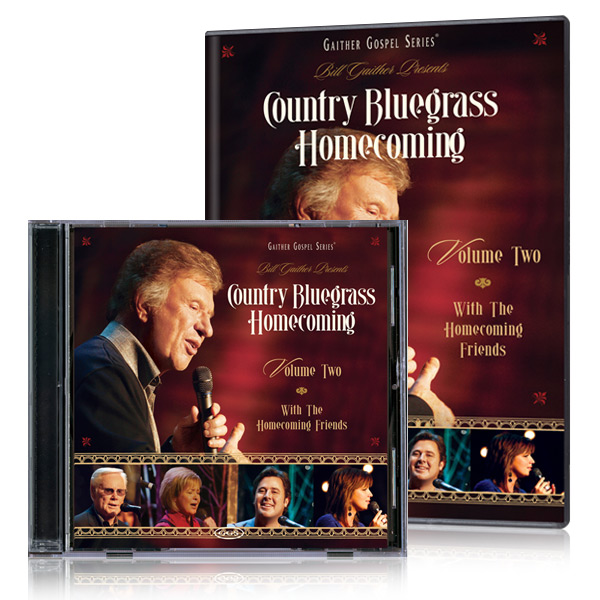 Country Bluegrass Homecoming Vol 2 DVD & CD