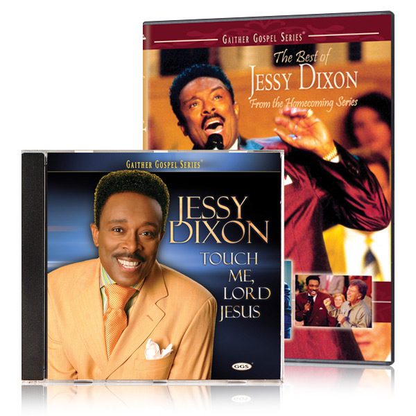 The Best of Jessy Dixon DVD & CD