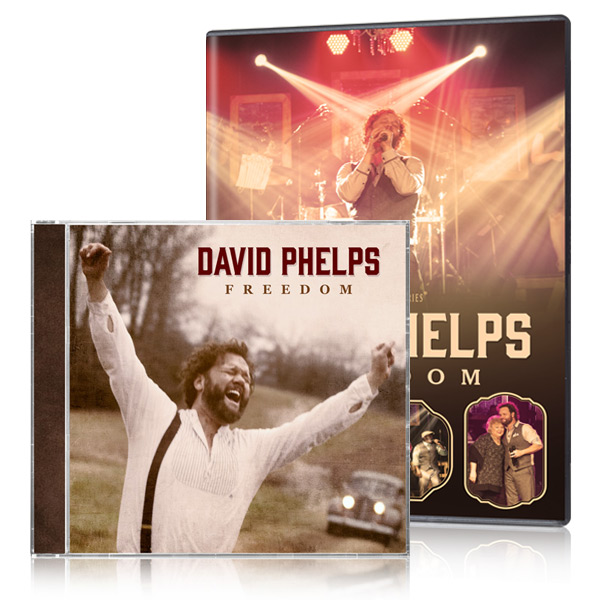 David Phelps: Freedom DVD/CD