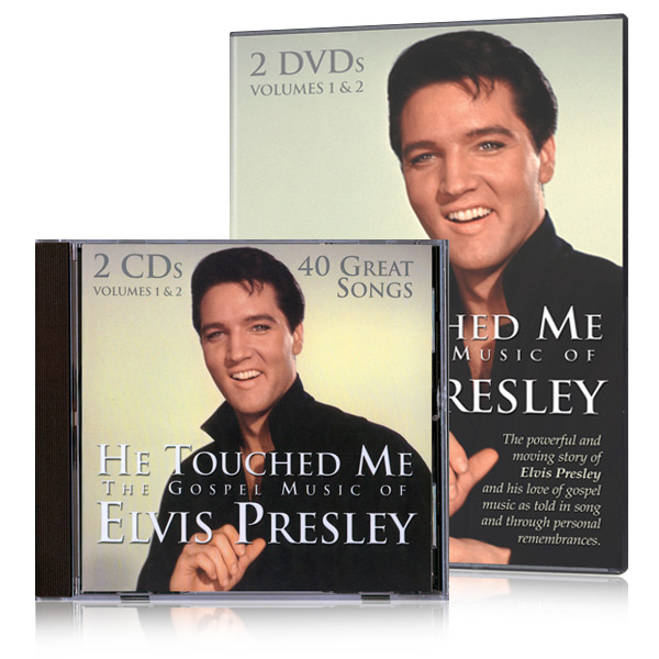 He Touched Me: The Gospel Music of Elvis Presley 2 DVDs & 2 CDs