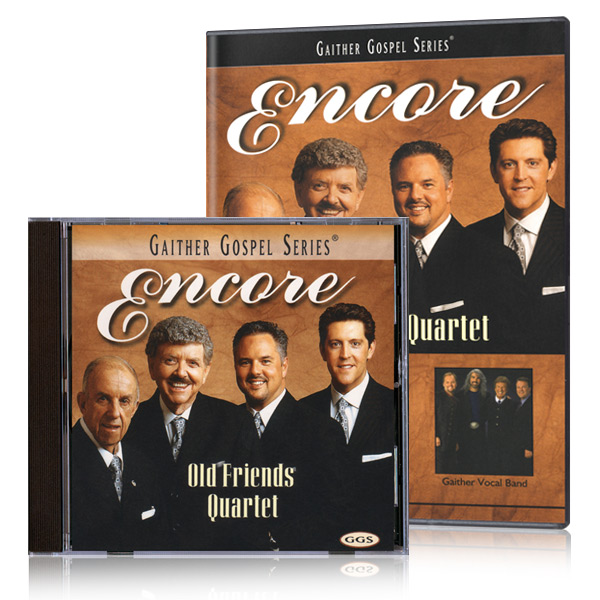 Old Friends Quartet: Encore DVD & CD
