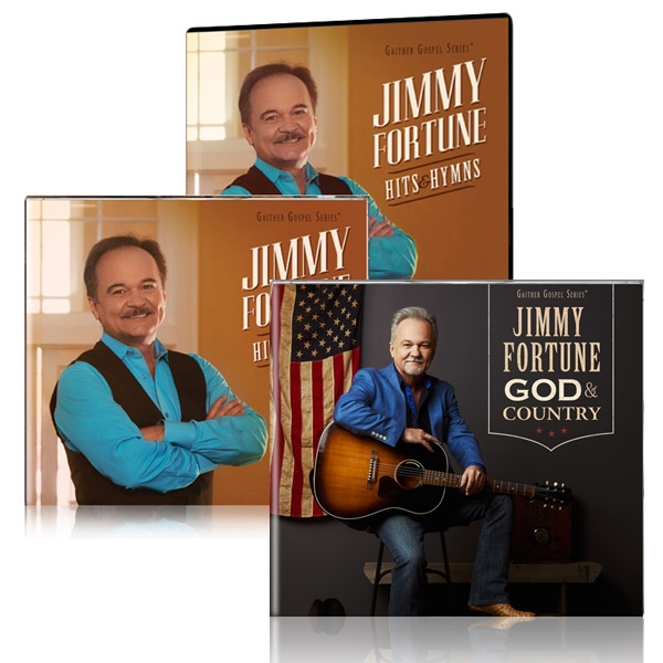 Jimmy Fortune: Hits & Hymns DVD/CD w/God & Country CD