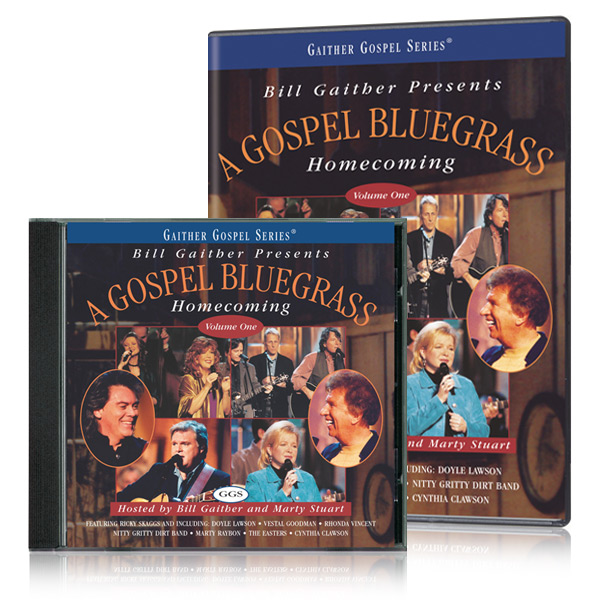 Gospel Bluegrass Homecoming Vol. 1 DVD & CD