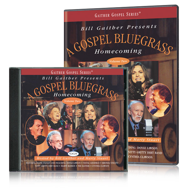 Gospel Bluegrass Homecoming Vol. 2 DVD & CD