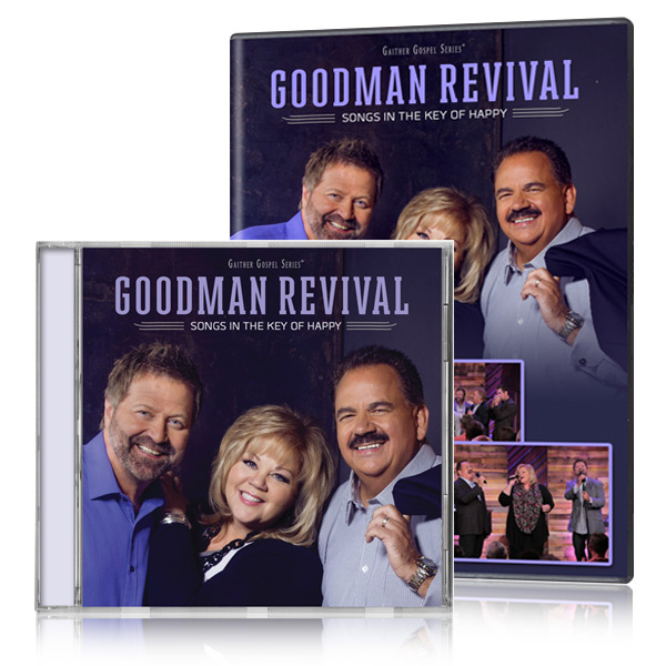 Goodman Revival: Songs In The Key Of Happy DVD & CD