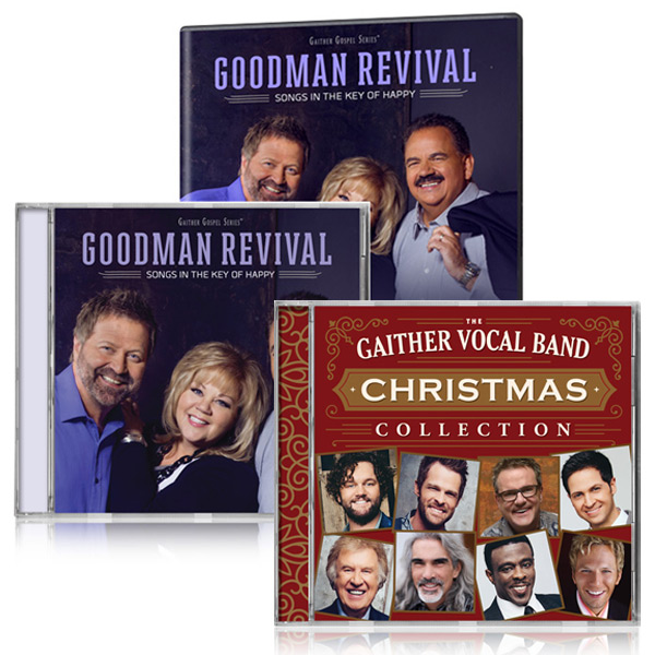 Goodman Revival: Songs In The Key Of Happy DVD/CD w/GVB: Christmas Collection CD