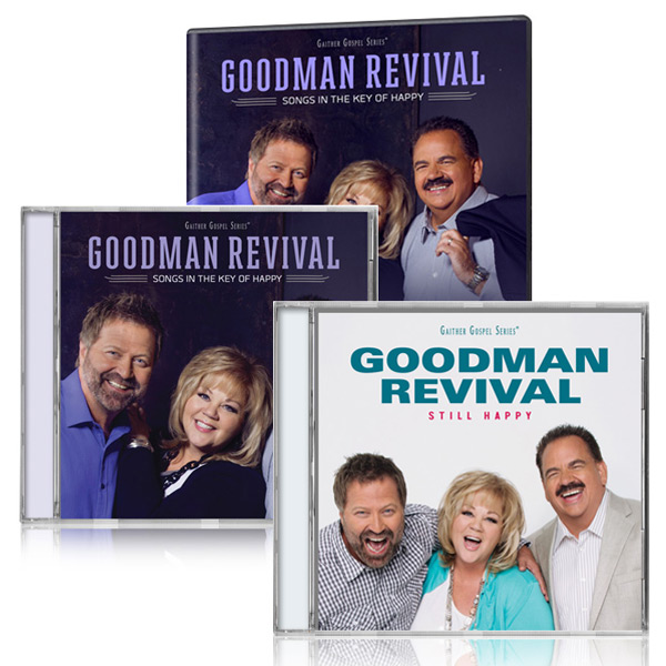Goodman Revival Songs In The Key Of Happy DVD/CD w/bonus Goodman Revival Still Happy CD