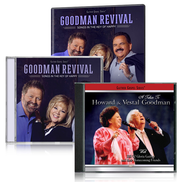 Goodman Family Revival DVD/CD bonus Tribute To Howard & Vestal Goodman CD
