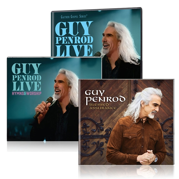 Guy Penrod: Hymns & Worship LIVE DVD & CD w/Blessed Assurance CD