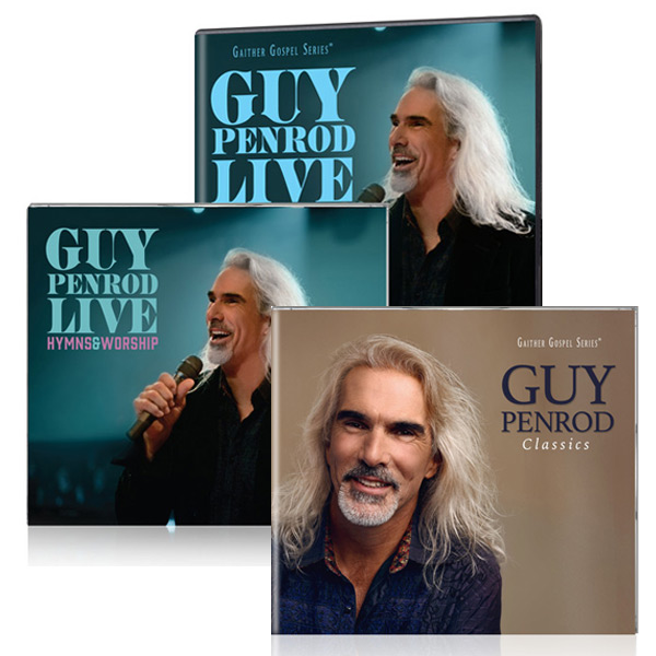 Guy Penrod Live: Hymns & Worship DVD/CD w/bonus Guy Penrod: The Classics CD