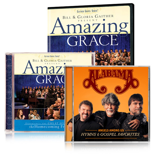 Amazing Grace DVD/CD w/bonus Alabama Gospel Collection CD