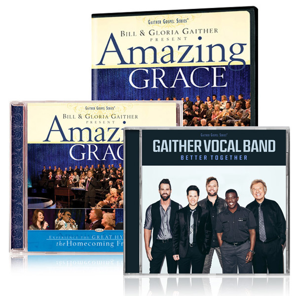 Amazing Grace DVD/CD w/bonus GVB: Better Together CD