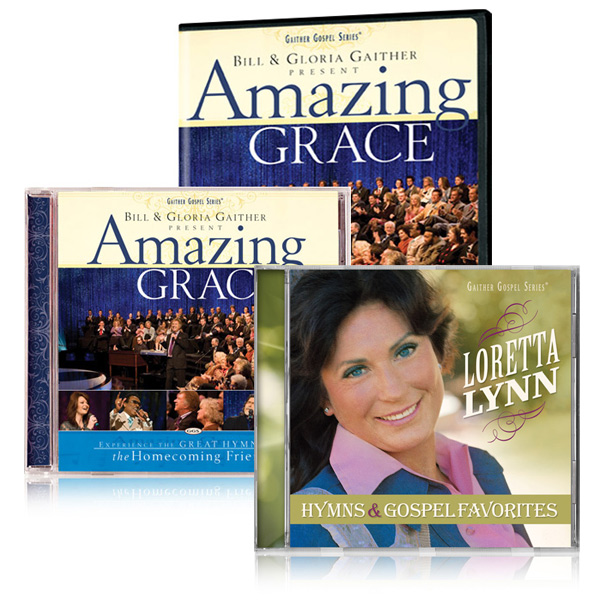 Amazing Grace DVD/CD w/bonus Loretta Lynn: Hymns & Gospel Favorites CD