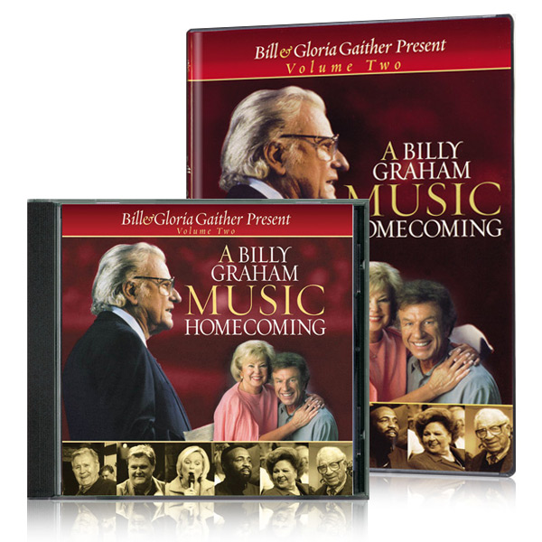 A Billy Graham Music Homecoming Volume Two DVD & CD