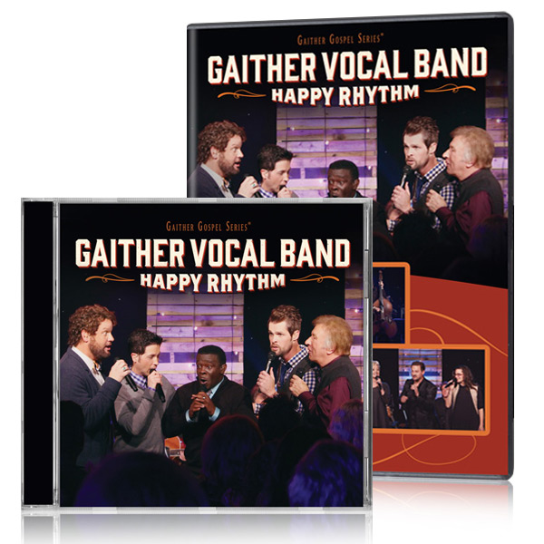 Gaither Vocal Band: Happy Rhythm DVD/CD