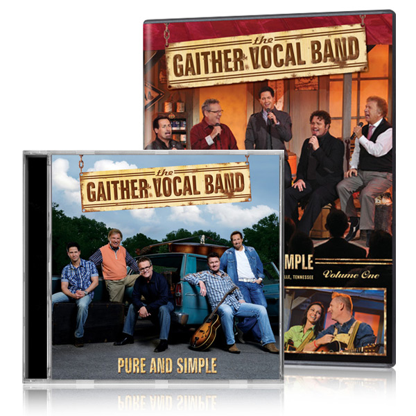 Gaither Vocal Band: Pure And Simple Vol. 1 DVD & CD