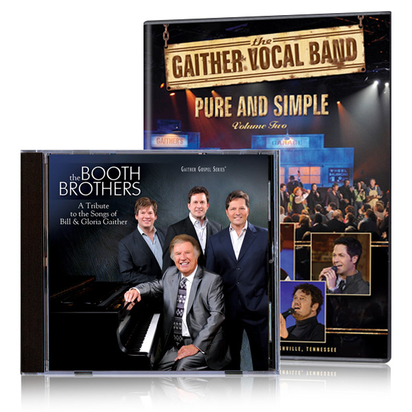 Gaither Vocal Band: Pure And Simple Vol 2 DVD & CD