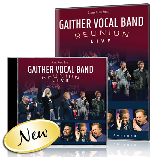 Gaither Vocal Band: Reunion Live DVD/CD