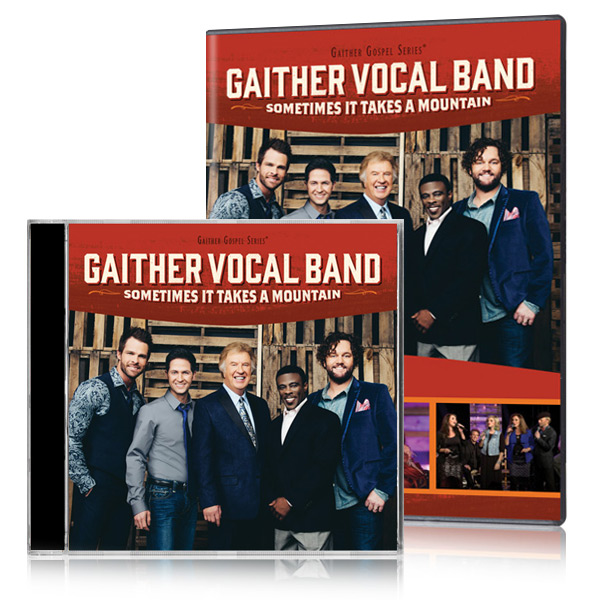 Gaither Vocal Band: Sometimes It Takes A Mountain DVD/CD