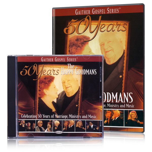 50 Years: The Happy Goodmans DVD & CD