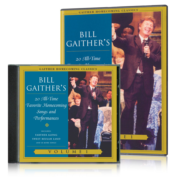 Gaither Homecoming Classics Vol 1 DVD & CD