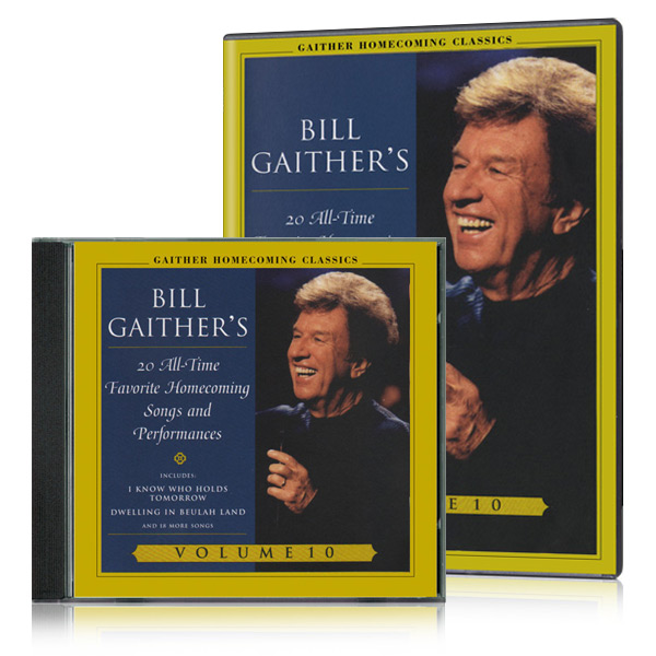 Gaither Homecoming Classics Vol 10 DVD & CD