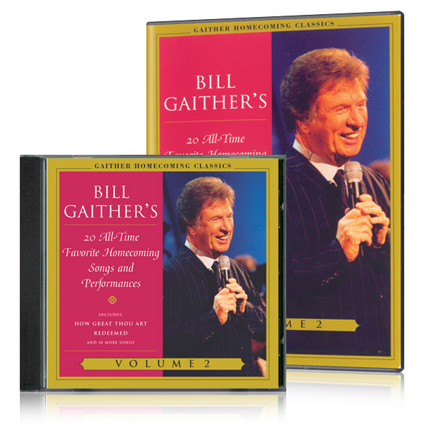 Gaither Homecoming Classics Vol 2 DVD & CD
