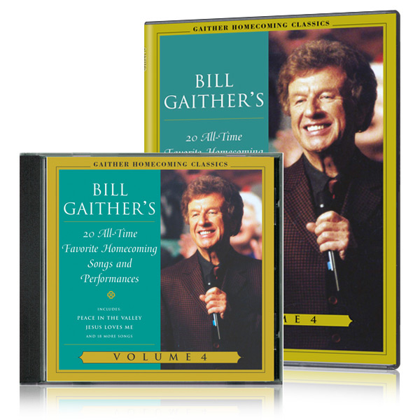 Gaither Homecoming Classics Vol 4 DVD & CD