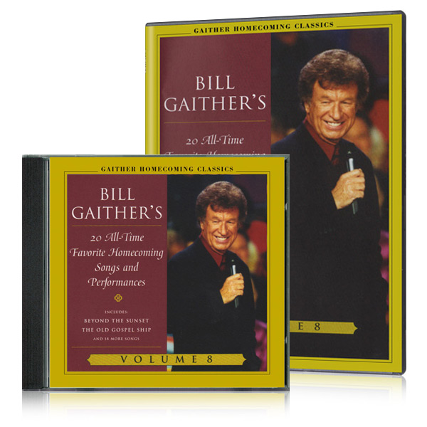 Gaither Homecoming Classics Vol 8 DVD & CD