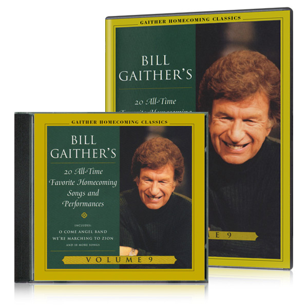 Gaither Homecoming Classics Vol 9 DVD & CD