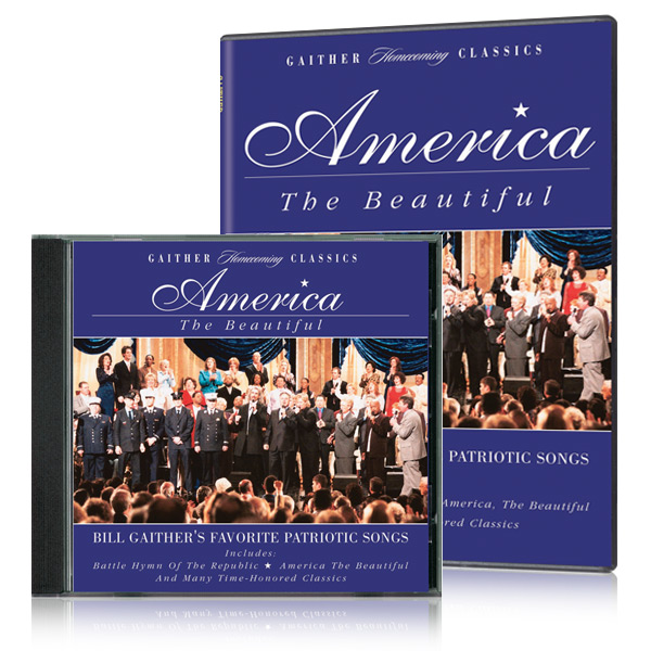 Gaither Homecoming Classics: America The Beautiful DVD & CD
