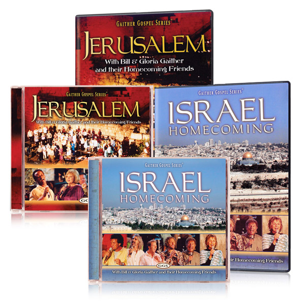 Israel Homecoming & Jerusalem 2 Pk