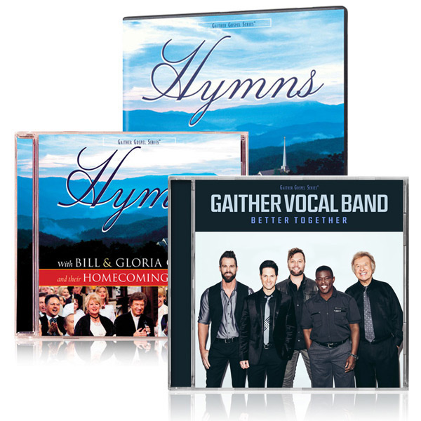 Hymns DVD/CD w/bonus GVB Better Together CD