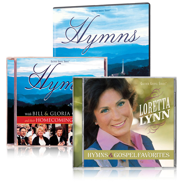 Hymns DVD/CD w/bonus Loretta Lynn: Hymns & Gospel Favorites CD