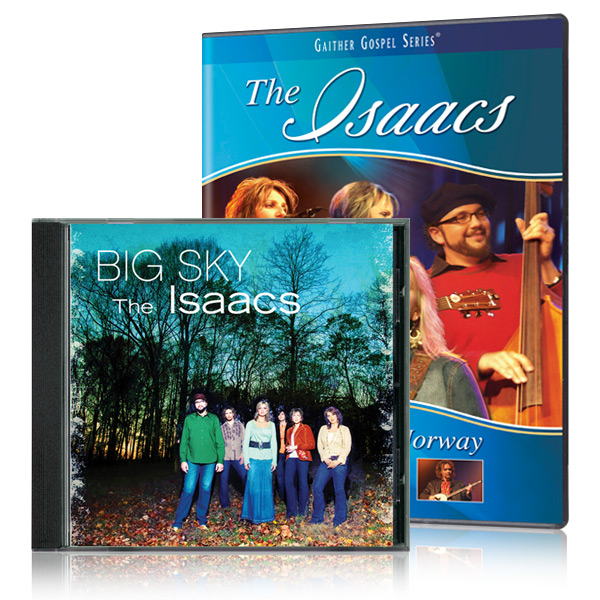 The Isaacs: Live From Norway DVD with Big Sky CD