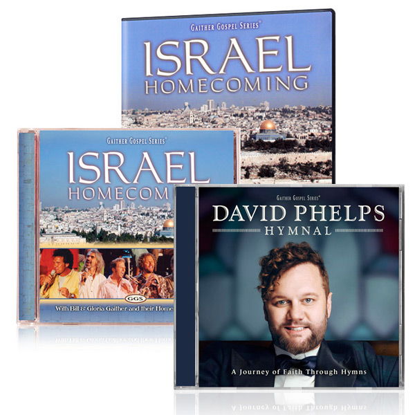 Israel Homecoming DVD/CD w/bonus David Phelps: Hymnal CD