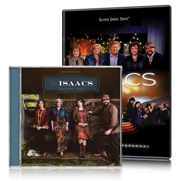The Isaacs: Up Close And Personal DVD w/The Living Years CD